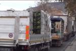 Nuovi orari, protesta al mercato ortofrutticolo: i tir bloccano il traffico