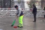 Capodanno a Palermo, raccolte 10 tonnellate di rifiuti in strada - video