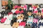 Merce contraffatta, sequestrate 300 paia di scarpe a Catania