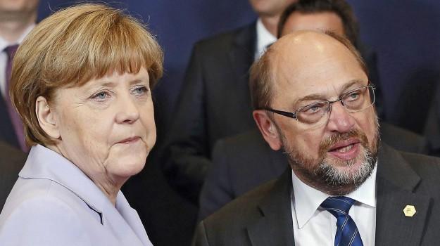elezioni germania, germania, Angela Merkel, Martin Schulz, Sicilia, Mondo