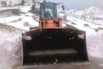 Torna a nevicare sui Nebrodi, spazzaneve in azione