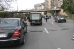 Tamponamento a catena con un carro funebre, traffico in tilt a Palermo