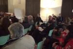 Un momento del Tavolo Povertà riunito questa mattina a Palermo
