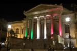 Teatro Massimo tricolore per festeggiare Palermo Capitale della cultura - Video
