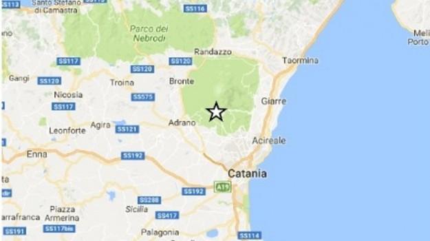 Ingv, scossa, terremoto, Catania, Cronaca