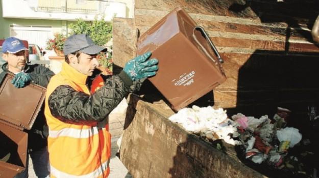 raccolta, rifiuti, Sciacca, Agrigento, Cronaca