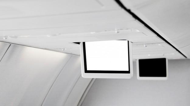 aereo, tablet, Sicilia, Società