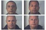 Tabaccaio ucciso a Villarosa, nomi e foto dei quattro arrestati
