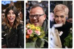 Fiori e sorrisi: all'Ariston il red carpet dei big
