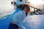 Aurora Ramazzotti e il diario social della vacanza alle Maldive