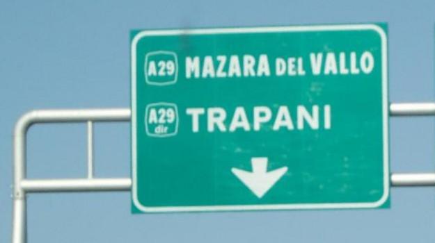 Alcamo, autostrada, Fulgatore, lavori, Trapani, Cronaca