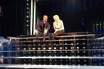 Conti e De Filippi sul palco: su Twitter uno scatto delle prove