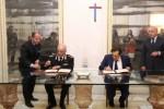 Patto per lo Sviluppo, firmata l'intesa fra Regione e carabinieri - Video