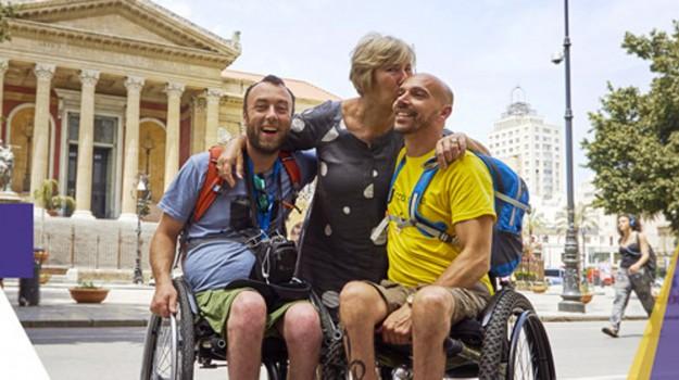 bookingbility.com, disabili, Palermo, Società