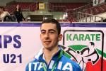 Karate, il vittoriese Panagia campione europeo a squadre