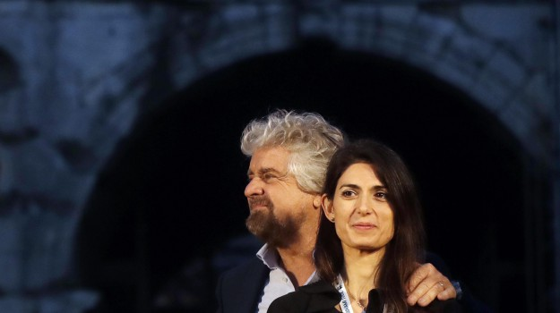 m5s, roma, Beppe Grillo, Davide Casaleggio, Virginia Raggi, Sicilia, Politica