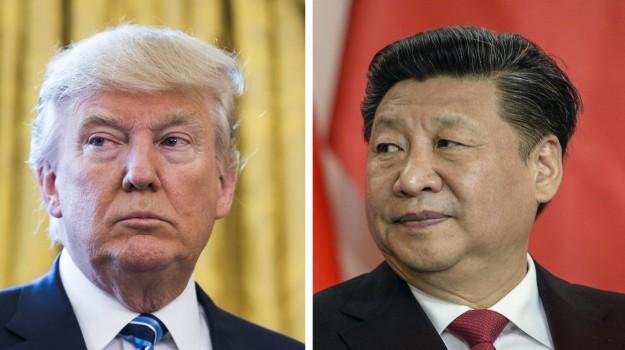 usa-cina, Donald Trump, Xi Jinping, Sicilia, Mondo