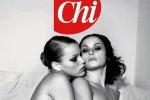 """Nuove foto dal passato di Melania Trump: la first lady nuda su """"Chi"""""""
