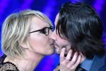 Giorgia e i baci di Maria. Totti star