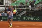 Coppa Davis, Lorenzi battuto: per l'Italia tutto da rifare