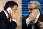 Trattative in casa Pd per evitare la scissione, Renzi apre a Emiliano