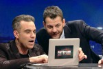 Robbie Williams e Alessandro Cattelan