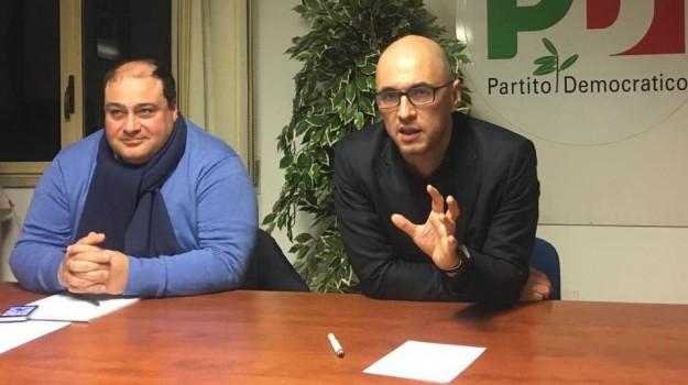 corrente, pd, Maurizio Martina, Tonino Russo, Palermo, Politica