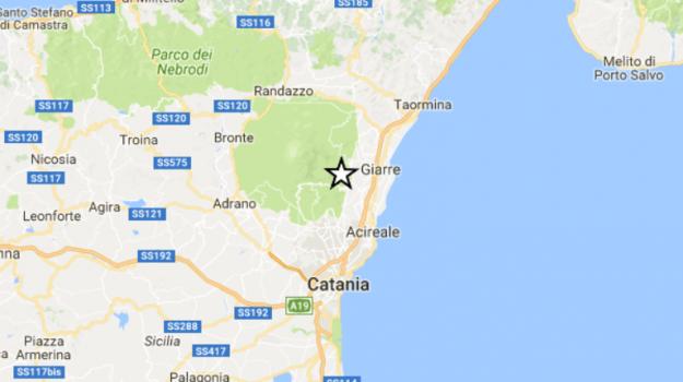 sisma, terremoto, Zafferana Etnea, Catania, Cronaca