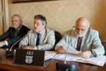 Il senatore Campanella, Antonio Venturino (vice presidente Ars) e l'avvocato Menallo
