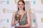 Emma Stone durante la premiazione di
