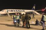Esercitazione a Birgi, simulato un incendio a un aereo