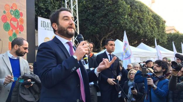 candidato sindaco palermo, comunali palermo, m5s, Giancarlo Cancelleri, Ugo Forello, Palermo, Politica