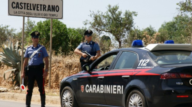 carabinieri, CASTELVETRANO, Trapani, Cronaca