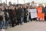 Gli studenti visitano il Centro di raccolta rifiuti di Enna