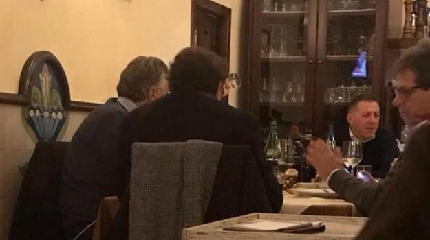 cena crocetta miccichè, Gianfranco Miccichè, Rosario Crocetta, Sicilia, Politica