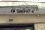 Disagi e crolli per il maltempo a Palermo, le immagini dalla città - Video
