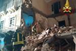 Crolla palazzina a Catania, il video dopo la tragedia