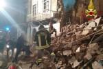Crollo a Catania, stabile la bimba ferita ma il quadro clinico è grave