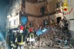 Palazzina crollata a Catania, indagato uno dei sopravvissuti