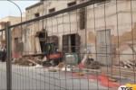 Crolla un cinema in ristrutturazione a Campobello di Mazara: due feriti