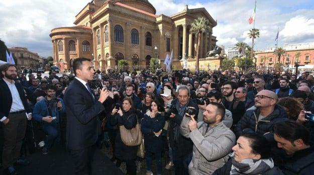 campagna elettorale, m5s, Sicilia, Politica