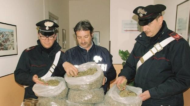 carabinieri, droga, marsala, Trapani, Cronaca