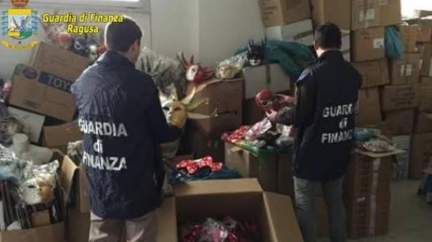 ragusa carnevale, sequestro articoli carnevale, Ragusa, Cronaca