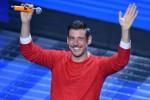 Francesco Gabbani sul palco dellArena di Giletti - Ansa