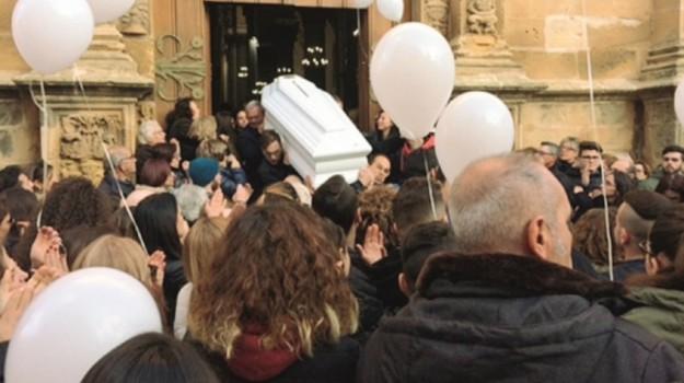CASTELVETRANO, funerale, incidente, Trapani, Cronaca