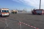 Incendio sulla nave Napoli-Palermo, tecnici al lavoro per scoprire le cause