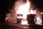 Tir incendiati a Vittoria, l'imprenditore: mai avuto minacce