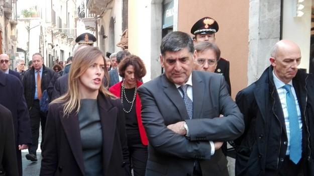 G7 2017, g7 taormina, taormina, Maria Elena Boschi, Sicilia, Politica