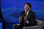 """Renzi all'attacco: """"La scissione? Scritta e ideata da D'Alema"""""""