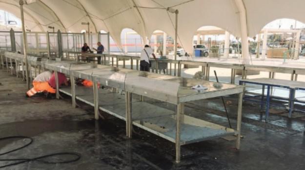 mercato del pesce, Trapani, Cronaca